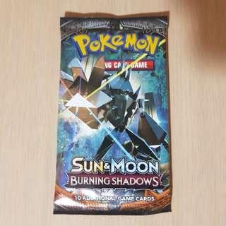 POKEMON Sun and Moon-- Burning Shadow