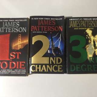 6 Books from James Patterson