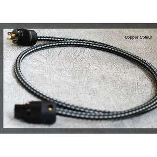 MOON (夜神))III Power Cable -  Copper Colour