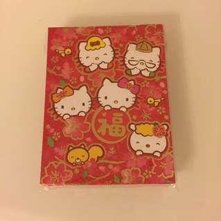 Sanrio 利是封 Hello Kitty Twins Stars XO Melody