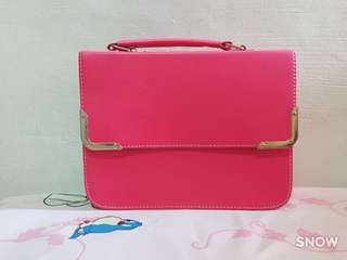 2 for $20 Brand New Pink Sling Bag