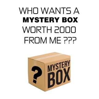 MYSTERY BOX WORTH 2000 PESOS!!