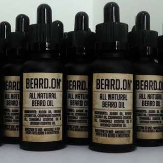 Beard.On All Natural Beard Oil