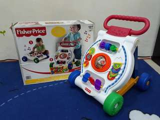 Fisher Price pushwalker with music