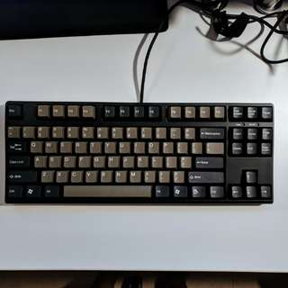 V80 TKL Mechanical Keyboard Dolch (Taihao double-shot ABS keycaps): Matias Click (No LEDs)