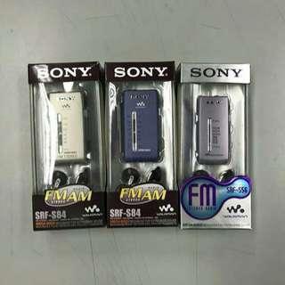 Sony S56 & sony s84 收音機