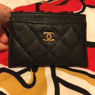 Chanel Style Card Holder