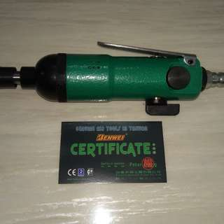 Pneumatic Heavy Duty 5mm Air Screw Driver