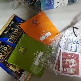 🚚 日本帶回各式茶包  耳掛咖啡 知覽茶