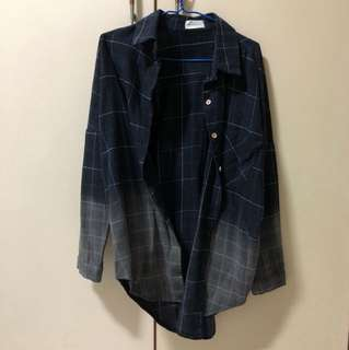 Checkered 2-Toned Flannel