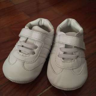 Pitter Pat first shoes