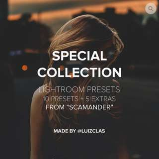 luizclas Special Collection Lightroom Presets