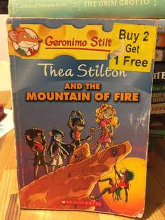 Thea Stilton and the mountain of fore