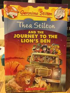 Thea Stilton and the journey to the lions den