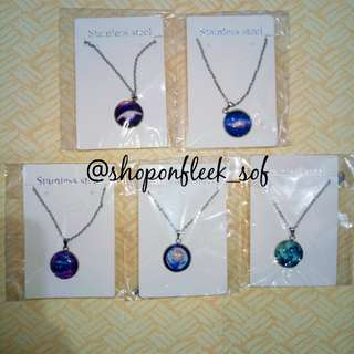 SOF Moon and Galaxy Necklace