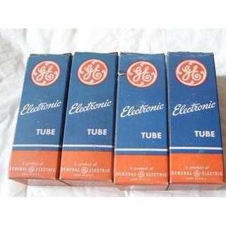 GE 6X5GT Rectifier tube