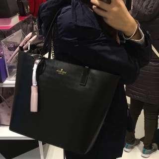 Kate spade black tote bag (