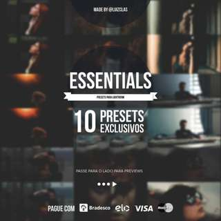 Luizclas Essentials Lightroom Presets
