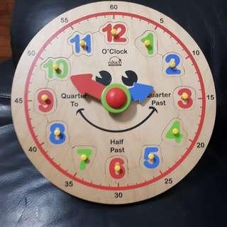Hape Happy Clock