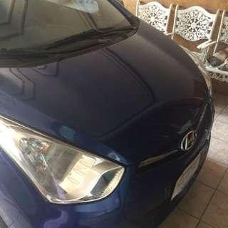 Hyundai eon high end printine blue