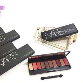 NARS 10 colour eyeshadow