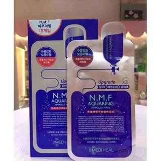 Mediheal N.M.F Aquaring Ampoule Mask EX. 10 sheets per box