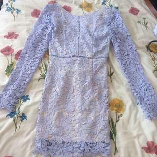Beautiful lace lilac dress