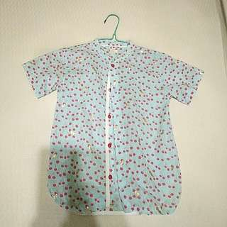 Boy Shirt with mandarin collar