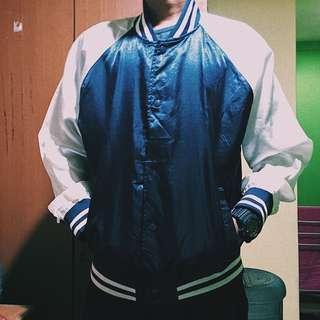 Baseball jacket navy
