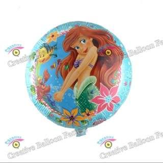 💕 Ariel party supplies - Ariel balloon / party deco