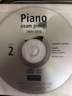 CD Piano Exam Pieces 2009-2010