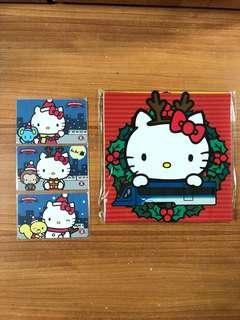 港鐵MTR Hello Kitty 聖誕紀念車票 包郵