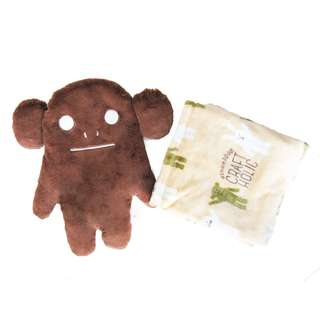 [PO] CRAFTHOLIC Solid CRAFT Blanket in Pillow Cushion BROWN LORIS