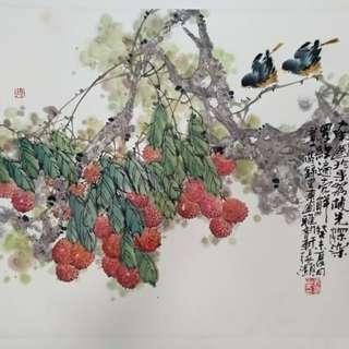 Chinese Art Painting 名家字画 山水画 花鸟画 风水画 中国画 收藏 投资 增值 保值。