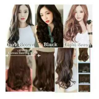 Hairclip Korea Style 60 CM/Korean Wave Hairclip
