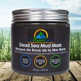 Dead Sea Mud Mask, Facial Pore Cleanser, Black Face Mask, Pore Cleansing Mud Mask for Blackheads Removal & Acne Treatment in Canada