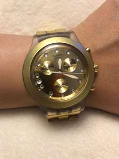 Swatch Irony Diaphane - Gold