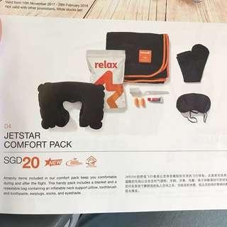 Jetstar Travel Comfy Pack