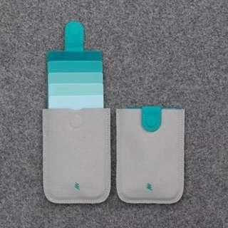 防盜錢包 卡片盒 卡套 旅行 情侶 銀包 證件套
