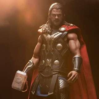 雷神 Thor hottoys mms225 鐵鎚 全港限量 300隻 1/6 figure