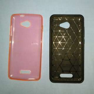 Soft case andromax A(pink) & B(hitam)
