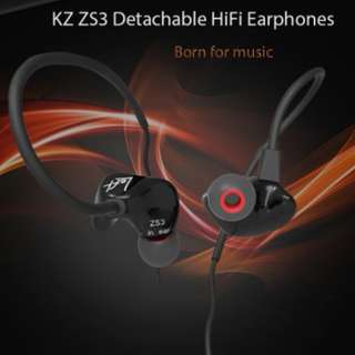 KZ ZS3 HiFi In-ear Earphones with mic