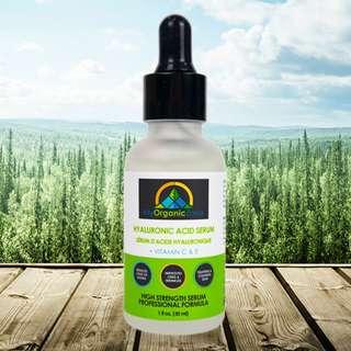 Hyaluronic Acid Serum, Best Face & Skin Moisturizer for Dry & Oily Skin in Canada