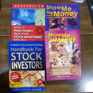 Books on investments stocks & shares