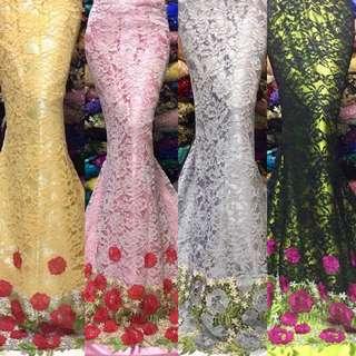 Premium Quality Vietnam Lace Fabric