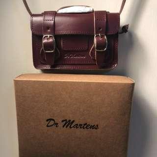 Dr Martens 真皮 磚紅色 迷你斜孭袋 NEW!