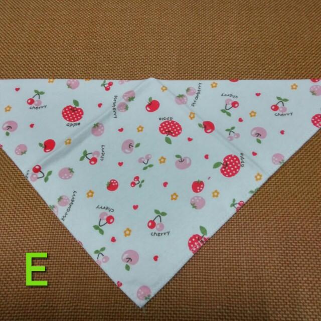 多款純棉【可愛口水巾2】三角巾/圍兜兜