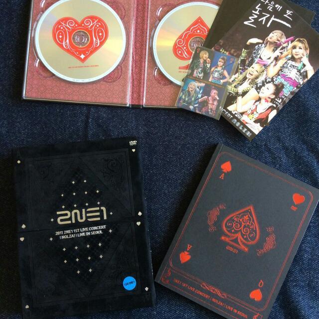 2NE1 - Nolza First Live Concert In Seoul  DVD (Korean Ver.)