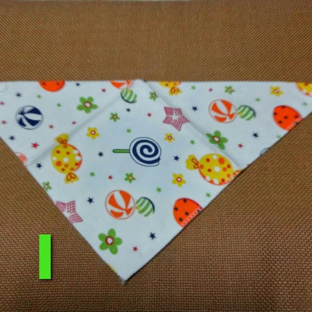 多款純棉【可愛口水巾3】三角巾/圍兜兜