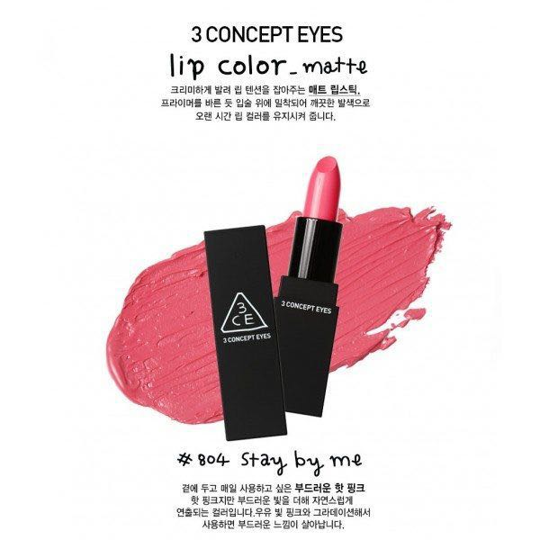 3CE MATTE LIPSTICK in Stay By Me